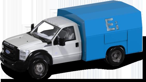 Pressure Testing BOPX EZ Test Truck