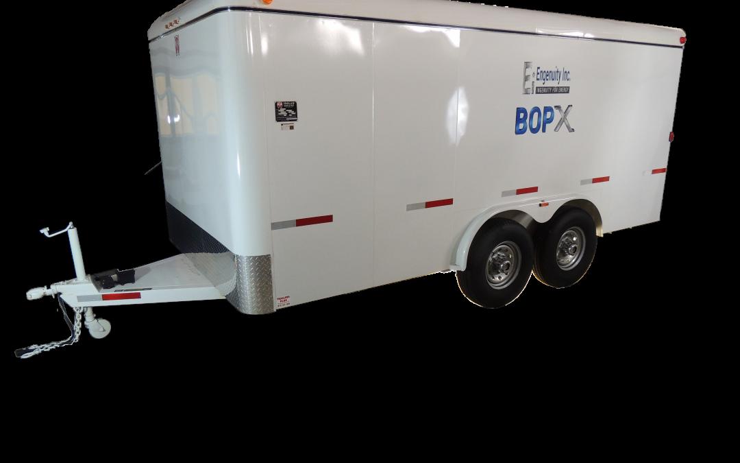 BOPX EZ Test Trailer