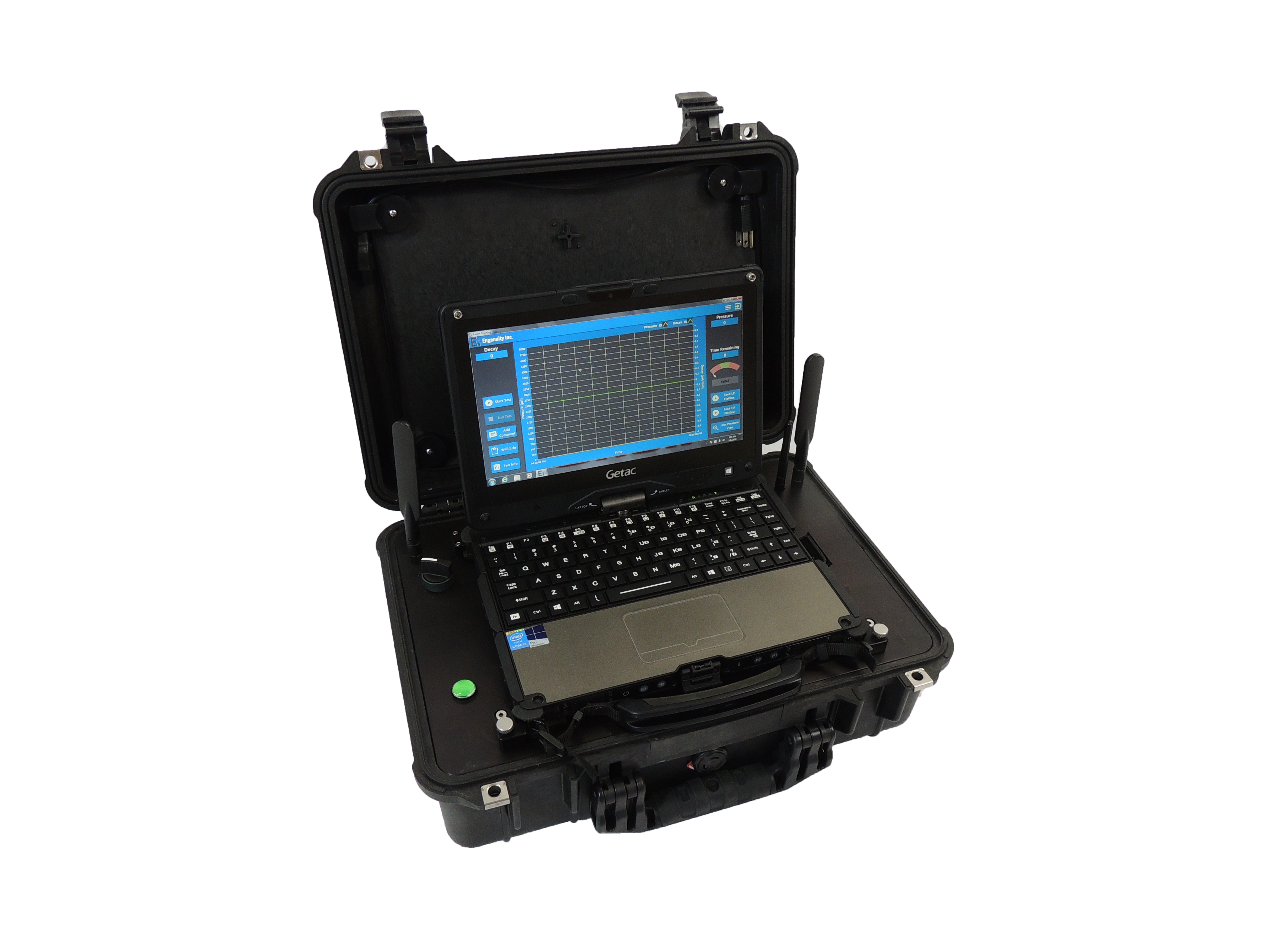 With Ei S Digital Chart Recorder You Can Record And Display Pressure Test Data The Ez Utilizes Precision Recording